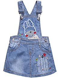 OshKosh B´gosh Mädchen Sommerkleid Kleid Girls Dress Kleid Hickory Stripe rot