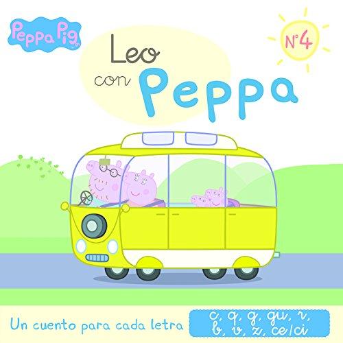 Un cuento para cada letra: c, q, g, gu, r (sonido suave), b, v, z, ce-ci (Leo con Peppa Pig 4)