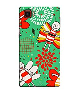 Snapdilla Designer Back Case Cover for Lenovo Vibe Z2 Pro :: Lenovo K920 :: Lenovo Vibe Z2 Pro K920 (Wallpaper Expression Backcover Pouch White Green Background Nature)