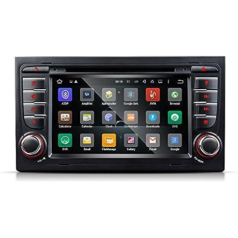 Eonon ga6158F Android 5.1en Dash Coche GPS Radio estéreo especial para Audi A4/S4/RS4: 2002–2007; SEAT EXEO 2009–2012coche reproductor de DVD 7pulgadas 2Din Multimedia pantalla táctil bluetooth 4.0unidad principal FM/AM