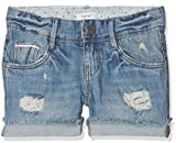 NAME IT Mädchen Shorts NKFROSE DNMTALA 1007 NOOS, Blau Light Blue Denim, 134