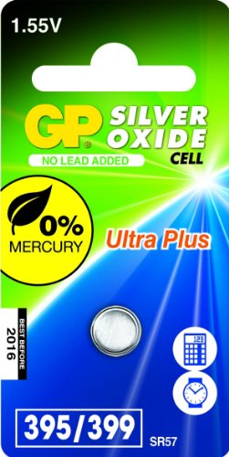 GP Batteries 040UP395C1 Pile de montre 395 SR927SW/1,55 V