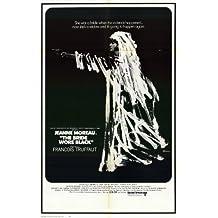 The Bride Wore Black–Póster de la película 11x 17en–28cm x 44cm Jeanne Moreau Claude Rich Jean-Claude Brialy Michel ramo Michael (Michel) Lonsdale Charles Denner