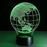 YFF@ILU Ozeanien kontinent Karten 3D-light Color Touch LED vision Beleuchtung