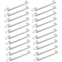 Barras de acero inoxidable para tirador de armario de cocina o baño, 160 mm