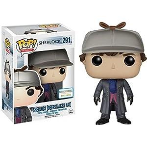 Funko Sherlock Holmes con gorra de detective (Sherlock 291) Funko Pop Sherlock