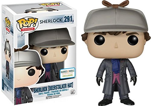 Sherlock Holmes with Deerstalker Limited Edition Pop Vinyl Figure