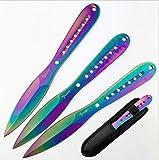 KanDar TWK 143 • FESTSTEHENDE Messer WURFMESSER • Gesamtlänge: 228mm • TM-st.
