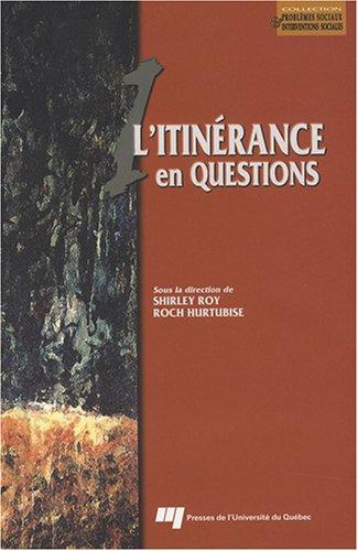 L'itinérance en question par Shirley Roy, Roch Hurtubise, Collectif