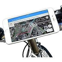 bikephone–magnético Soporte para teléfono móvil de bicicletas &. Co GPS y Strava pantalla plana