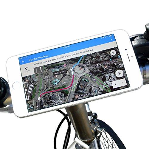 bikephone-magnético Soporte para teléfono móvil de bicicletas &. Co GPS y Strava...