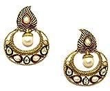 La Trendz Multicolor Antique Drop Earrings