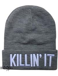Killin it Mütze Killing It Beanie Beanies Mütze Hat Letters Aufschrift