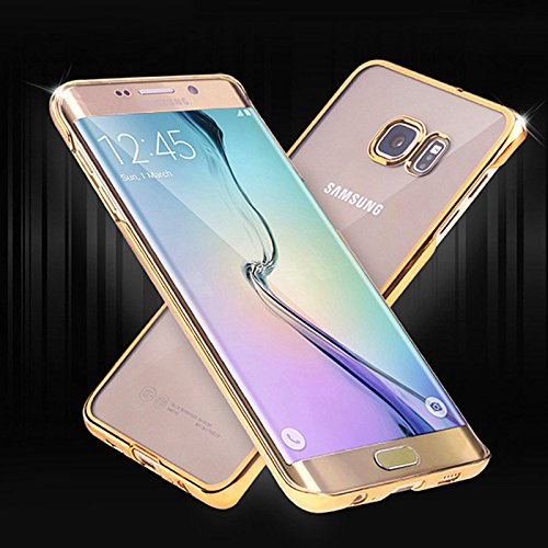 aridox (TM) or S6Étui en silicone TPU pour Samsung Galaxy S6G9200Transparent mat Coque arrière ultra fine + Transparent Coque souple pour Samsung S6