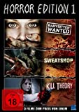 Horror Edition 1 (Babysitter Wanted / Kill Theory / Sweatshop) [Collector's Edition]