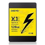 DREVO X1 Pro SSD Solid State Drive 128GB Upgrade SATAIII 560MB / S (beim Lesen) 500MB / S (beim Schreiben)