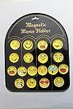 #9: MVT Magnetic Smiley/ Emoji Face for Fridge & Whiteboard -3DM (Set - 18)