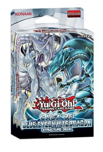 Yu-Gi-Oh! Saga of the Blue Eyes White Dragon Deutsch (Yugioh Eyes Blue Dragon Shining)