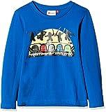 Lego Wear Jungen Langarmshirt Lego Boy Ninjago Thomas 716, Blau (Blue 569), 122