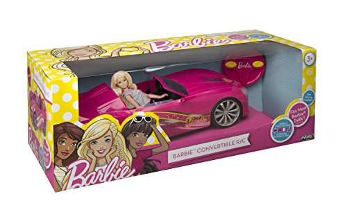 Coche descapotable de carreras tipo teledirigido para Barbie 72000 Marca Nikko