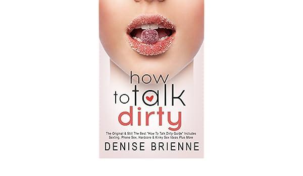 Kinky sex talk ideas