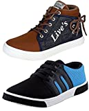 Ethics Perfect Combo Pack Of 2 Casual Sneaker Shoes for Men (10)