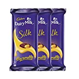 #8: Cadbury Dairy Milk Silk, Caramello, 136g (Pack of 3)
