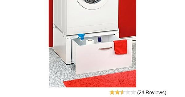 Waschmaschinen trockner untergestell mit schublade unterbau