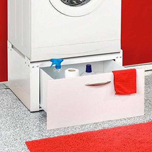 Waschmaschinen / Trockner Untergestell mit Schublade unterbau Podest