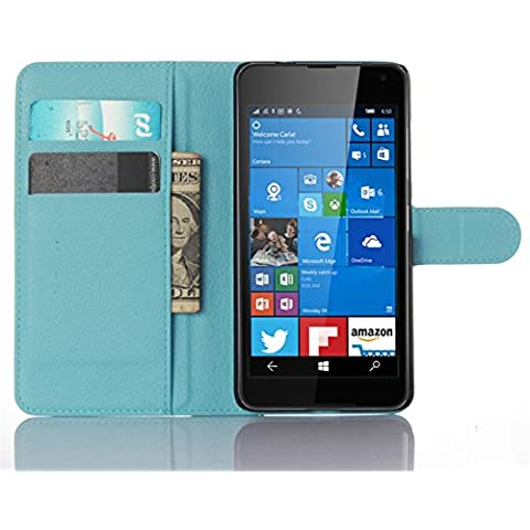 Portafoglio Cover per Microsoft Lumia 650, Fukalu