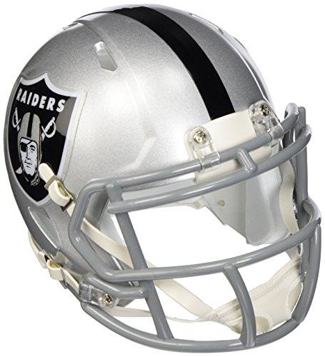 Speed Mini Helm Oakland Raiders ()