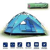 Likorlove 2–3Personen Camping Zelt, automatische Pop bis 3Jahreszeiten, Double Layer rainfly UV-Schutz Rucksackreisen Zelt mit Tragetasche für Camping/Wandern/Reisen/Jagd