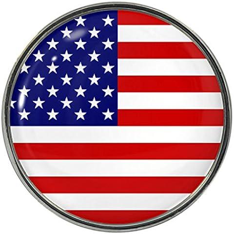 Bandiera degli USA, motivo: spilla in