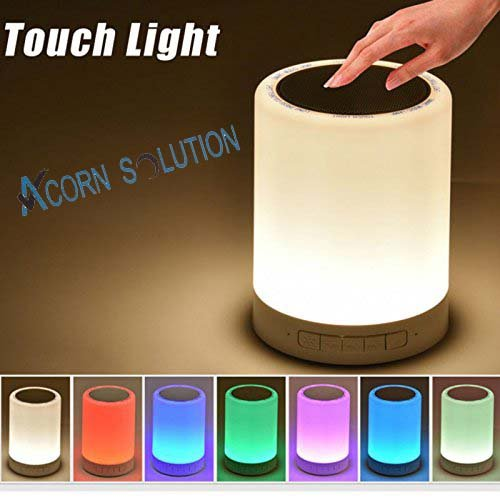 acorn-bedside-lamp-bluetooth-speaker-touch-sensor-table-lamp-portable-night-light-with-color-dimmabl