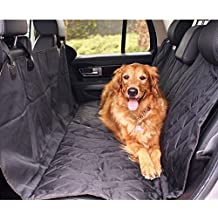 Cubierta de perro Coche Funda Impermeable para mascotas Trasero Asiento coche Alfombrilla de maletero Protector