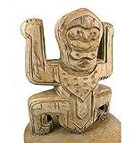 Artisanal Totem Style Koh Lanta en Bois - trophée Statue Ethnique Chic.