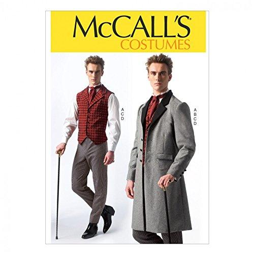 McCall 's Herren Schnittmuster 7003Historisches Kostüm (Historisches Herren Kostüm Muster)