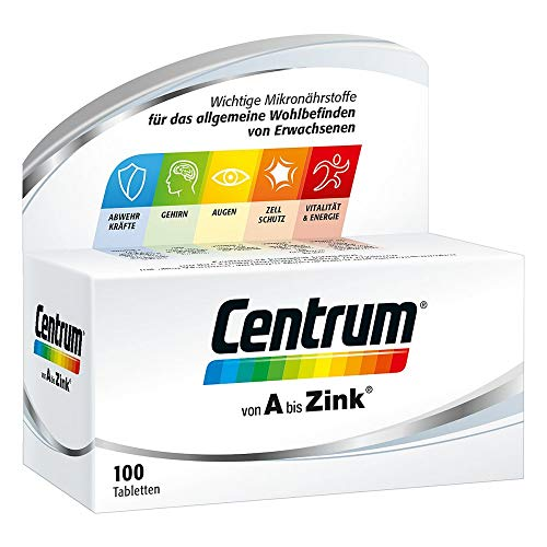 Centrum von A bis Zink, 100 St. Tabletten
