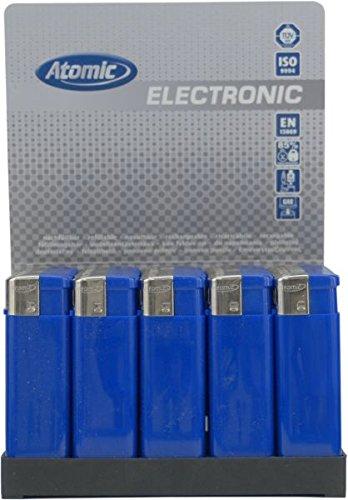 50-x-atomic-elektronik-feuerzeug-flat-softflame-nachfullbar-blau