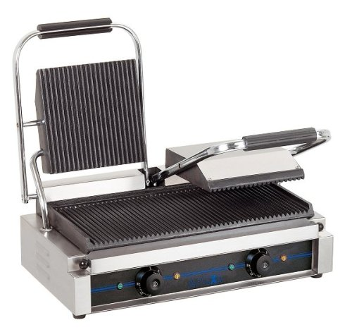 Gusseisen Raclette-grill (ELEKTRO DOPPEL KONTAKT GRILL)