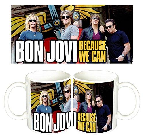 Bon Jovi Because We Can Tazza Mug