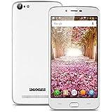 "Doogee Y200 - Smartphone 4G Libre Android 5.1 (Quad Core, Pantalla 5.5"", IPS 1280*720 HD, 2GB RAM, 32GB ROM, Camara 8.0MP, GPS, Smart Wake, Smart Gesture) Blanco"