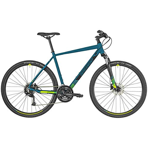 Bergamont Helix 3 Cross Trekking Fahrrad Petrol blau/schwarz 2019: Größe: 52cm (170-178cm)