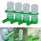 Yosoo 4PCS Bird Pet Drinker Food Feeder Waterer...