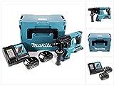 Makita DHR 263 RTJ 2x18V / 36 V SDS-Plus Akku Bohrhammer mit 2 x 5,0 Ah Akku + DC18RC Ladegerät im Makpac 4