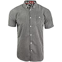 Brave Soul Mens Gingham Shirt by Clement