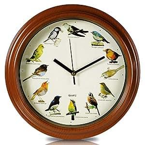 horloge murale l 39 apprentissage des chants d 39 oiseaux. Black Bedroom Furniture Sets. Home Design Ideas