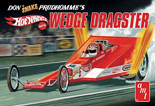 AMT AMT1049 1 Don 'Snake' Prudhomme's Coca Cola Wedge Dragster 'Hot Wheels', Maßstab 1:25