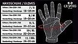 Athletik-Handschuh F13-1 Gr.L – Fitnesshandschuhe mit Bandage, Kraftsport & Bodybuilding - 5
