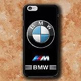 WEMNCVR BM Logo V Cas de téléphone Portable pour Coque iPhone 7 Plus/iPhone 8 Plus